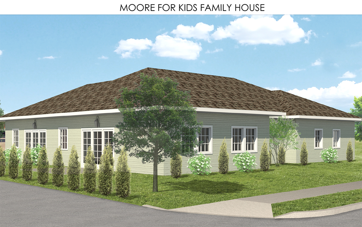 Moore Family House Rendering